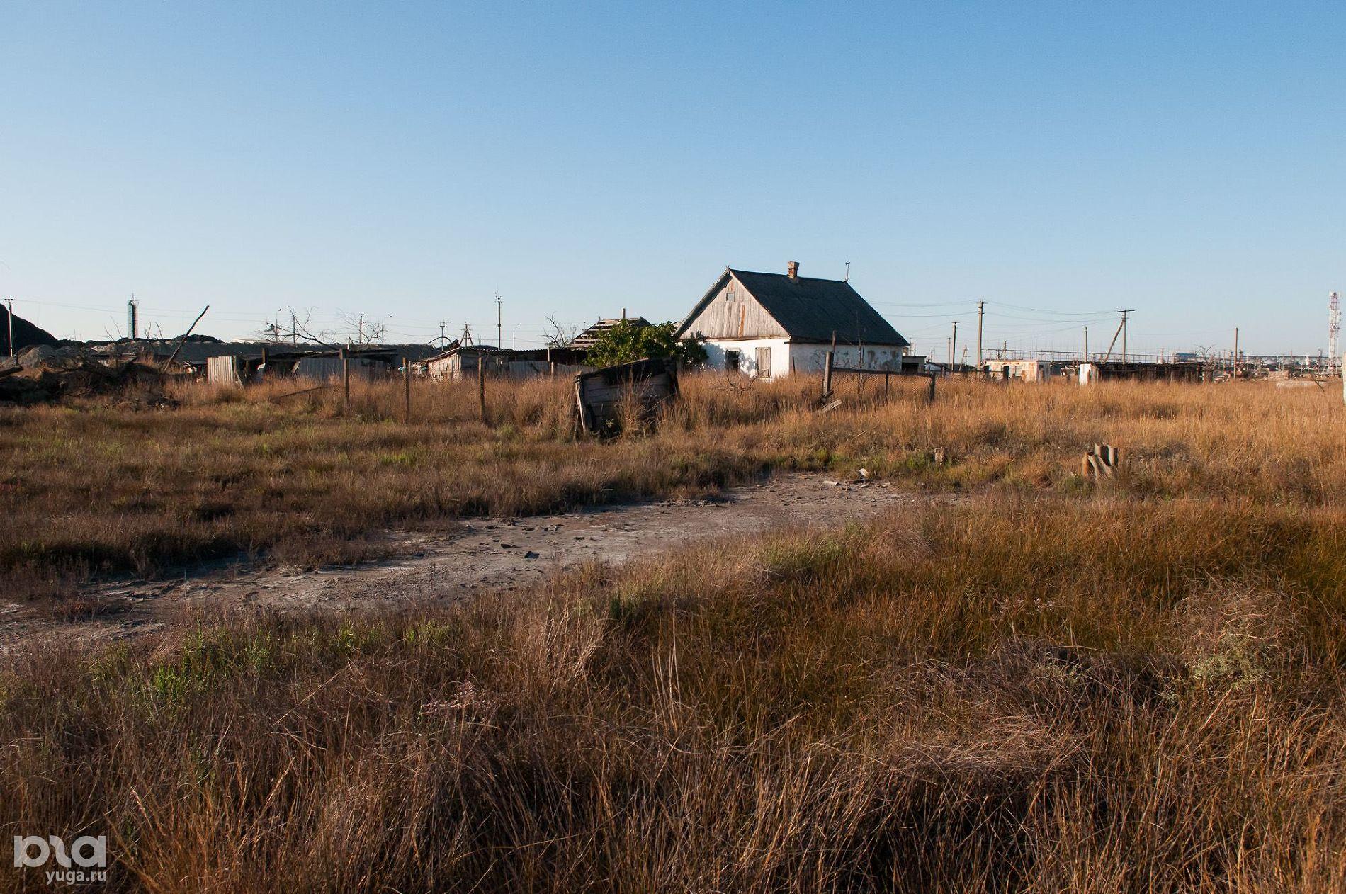 Поселок Чушка ©Фото Елены Синеок, Юга.ру