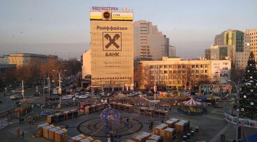 Здание с часами на улице Красной, 124 ©Фото пресс-службы администрации Краснодара