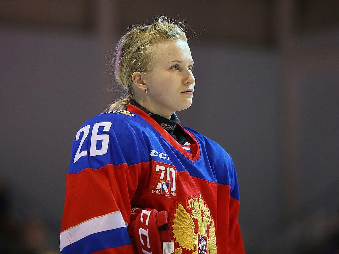 вратарь женской сборной рф по хоккею фото сайте