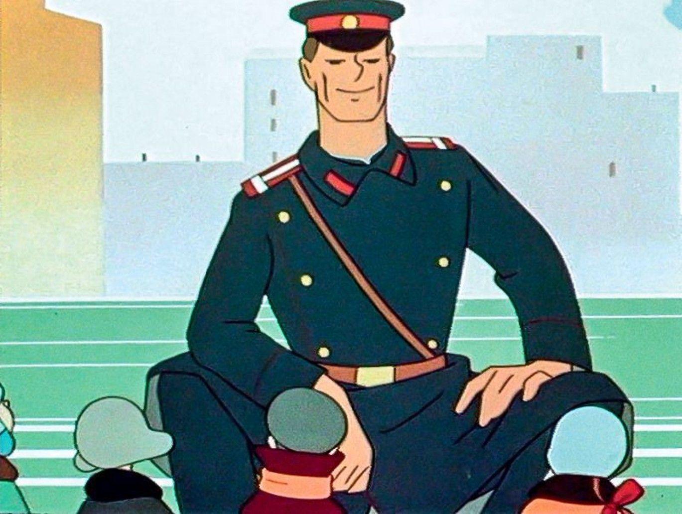 Кадр из мультфильма «Дядя Степа — милиционер» ©Скриншот видео с сайта youtube.com