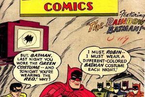 «Бэтмен и его семь разноцветных плащей» ©Фото с сайте dc.wikia.com