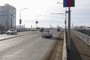 Тургеневский мост ©Фото пресс-службы администрации Краснодара