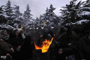 Противостояние после выборов в Южной Осетии ©Сергей Карпов. ЮГА.ру