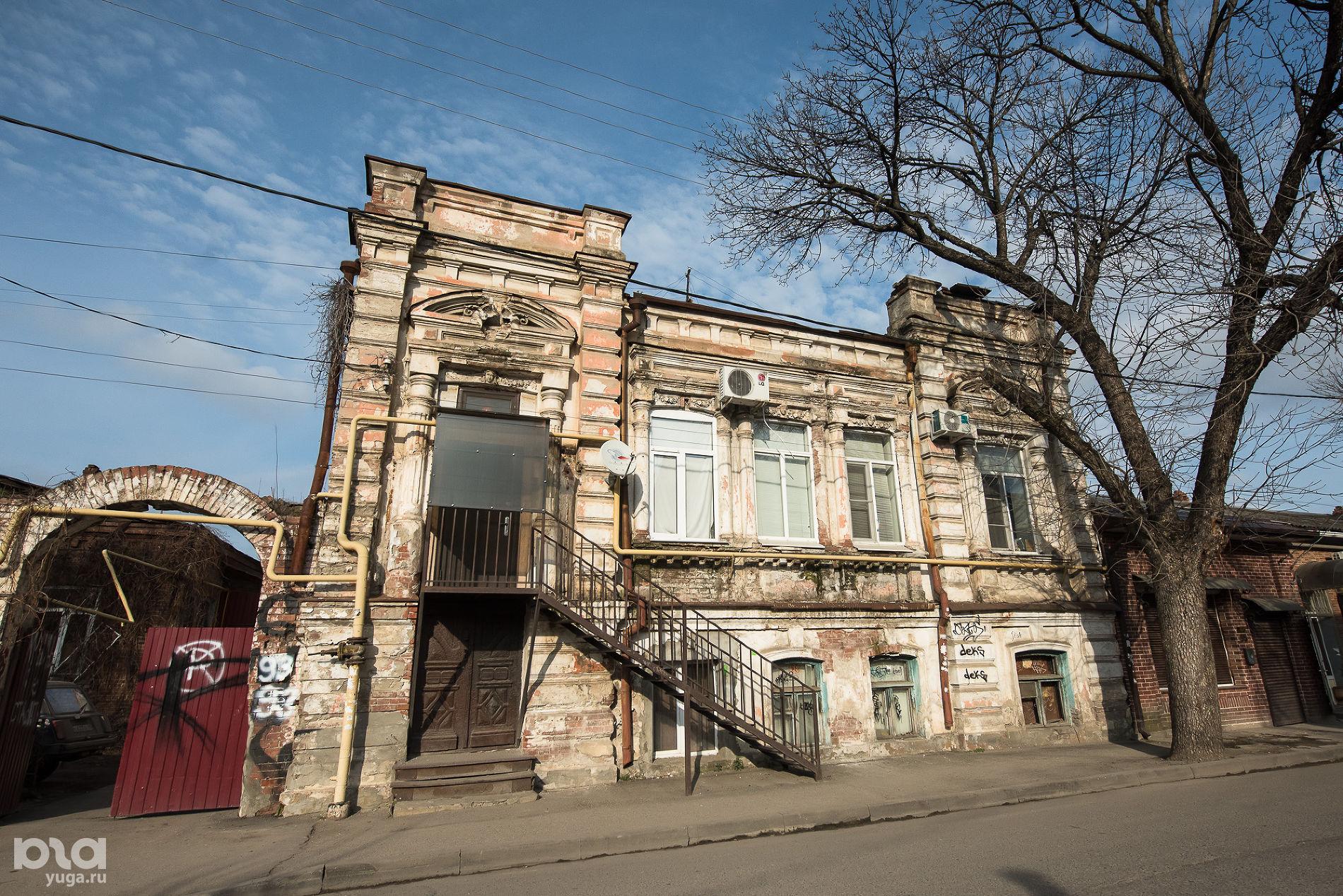 Карасунская, 93. Дом жилой, 1905 год ©Фото Елены Синеок, Юга.ру