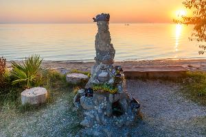 Памятник бычку-кормильцу работы Виталия Торопова