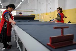 Открытие Цхинвальской швейной фабрики ©Фото Елены Синеок, Юга.ру