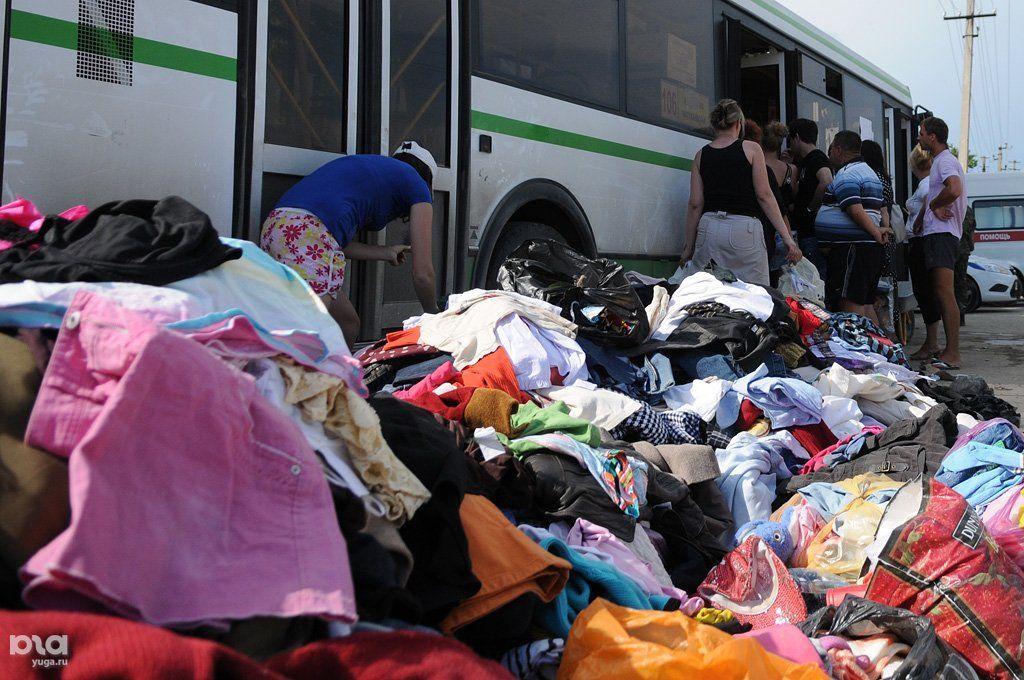 Гуманитарная помощь Крымску после наводнения