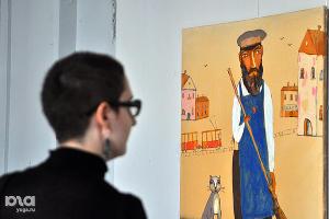 """Выставка Стаса Серова """"Пятьдесят"""" в Краснодаре ©Елена Синеок. ЮГА.ру"""