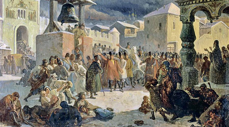 Новгородское вече ©Картина Василия Худякова, wikimedia.org