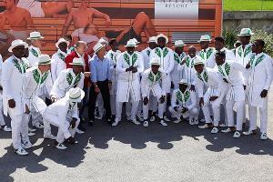 Сборная Нигерии по футболу ©Фото из аккаунта instagram.com/ng_supereagles