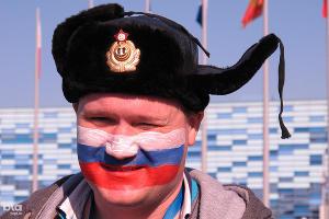Болельщик на Олимпиаде в Сочи ©Фото Юга.ру