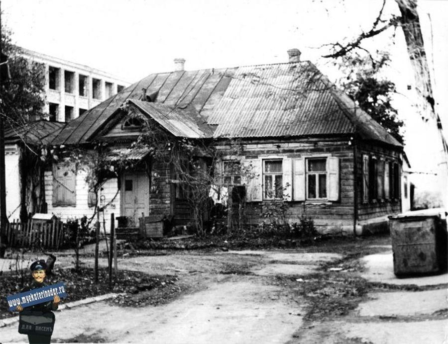 Дом Якова Кухаренко, 1975 год ©Фото с сайта myekaterinodar.ru