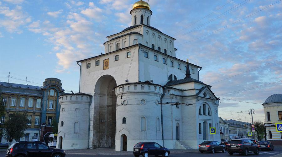 г. Владимир, Золотые ворота ©Фото Missis87 с сайта commons.wikimedia.org