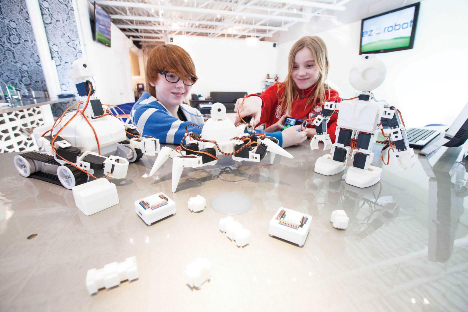 Новый детский технопарк появится наСтаврополье 1сентября