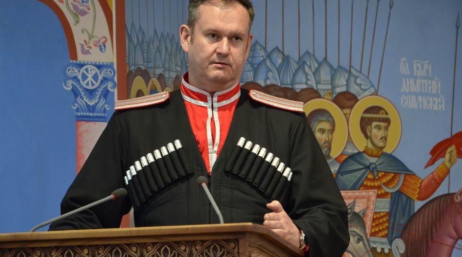 Сергей Пуликовский ©Фото пресс-службы Кубанского казачьего войска