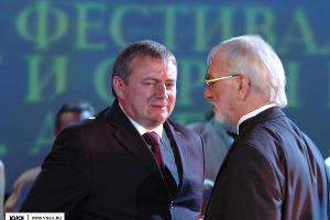 Анатолий Пахомов и Виктор Мережко. Фото: Виктор Зайковский ©Фото Юга.ру