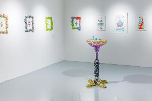 Экспозиция в галерее «Алиса», выставка «Фонтаны Бачикистана» ©Фото предоставлено Юлей Шафаростовой