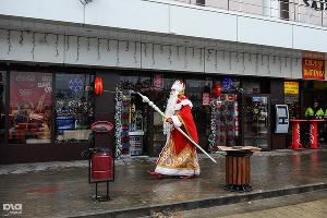 Дед Мороз приехал в Сочи ©Фото Нины Зотиной, Юга.ру