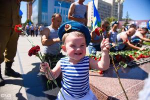 День ВДВ в Краснодаре. 2 августа ©Фото Юга.ру