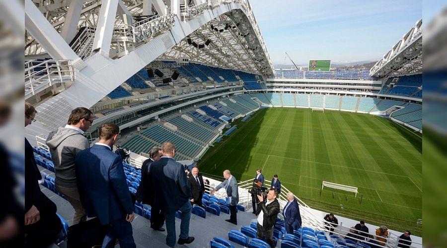 Стадион «Фишт» ©Фото пресс-службы администрации Краснодарского края
