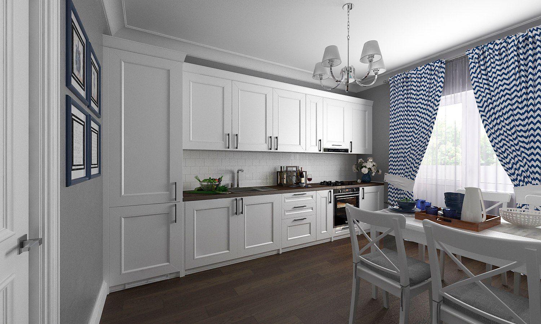 нормандия_кухня с мебелью ©Фото Юга.ру