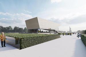 Вид на новый проект кинотеатра ©Изображение из презентации пресс-службы администрации Краснодара