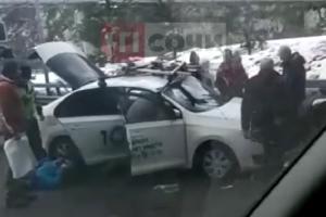 """©Скриншот видео из паблика """"ЧП Сочи"""" во """"ВКонтакте"""", vk.com/chpsochi"""