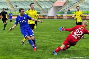 Матч 22-го тура РПЛ «Анжи» — «Динамо» ©Фото пресс-службы РФС