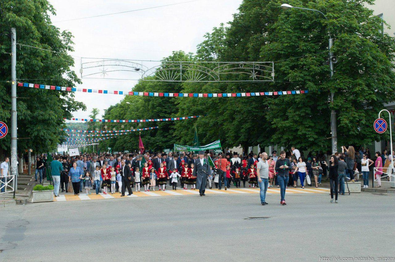 Памятное шествие в Майкопе ©Фото с сайта commons.wikimedia.org