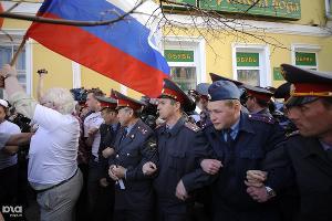 Митинг и шествие 4000 сторонников Олега Шеина в Астрахани ©Михаил Мордасов. ЮГА.ру