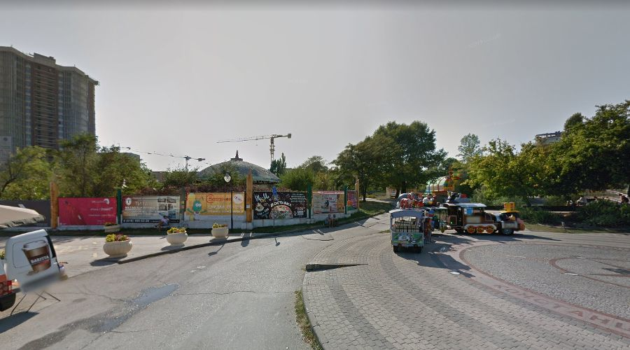 Парк имени Фрунзе в Новороссийске ©Панорама с сайта «Гугл.Карты», google.ru/maps
