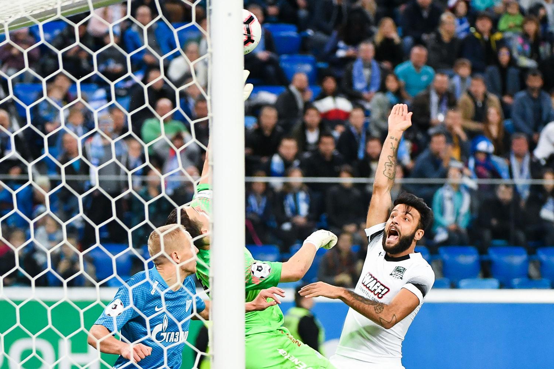 Матч «Зенит» — «Краснодар» 7 октября 2018 года