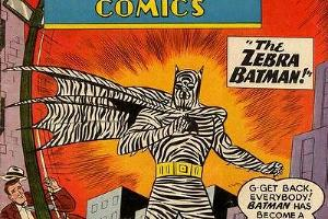 The Zebra Batman ©Фото с сайте dc.wikia.com