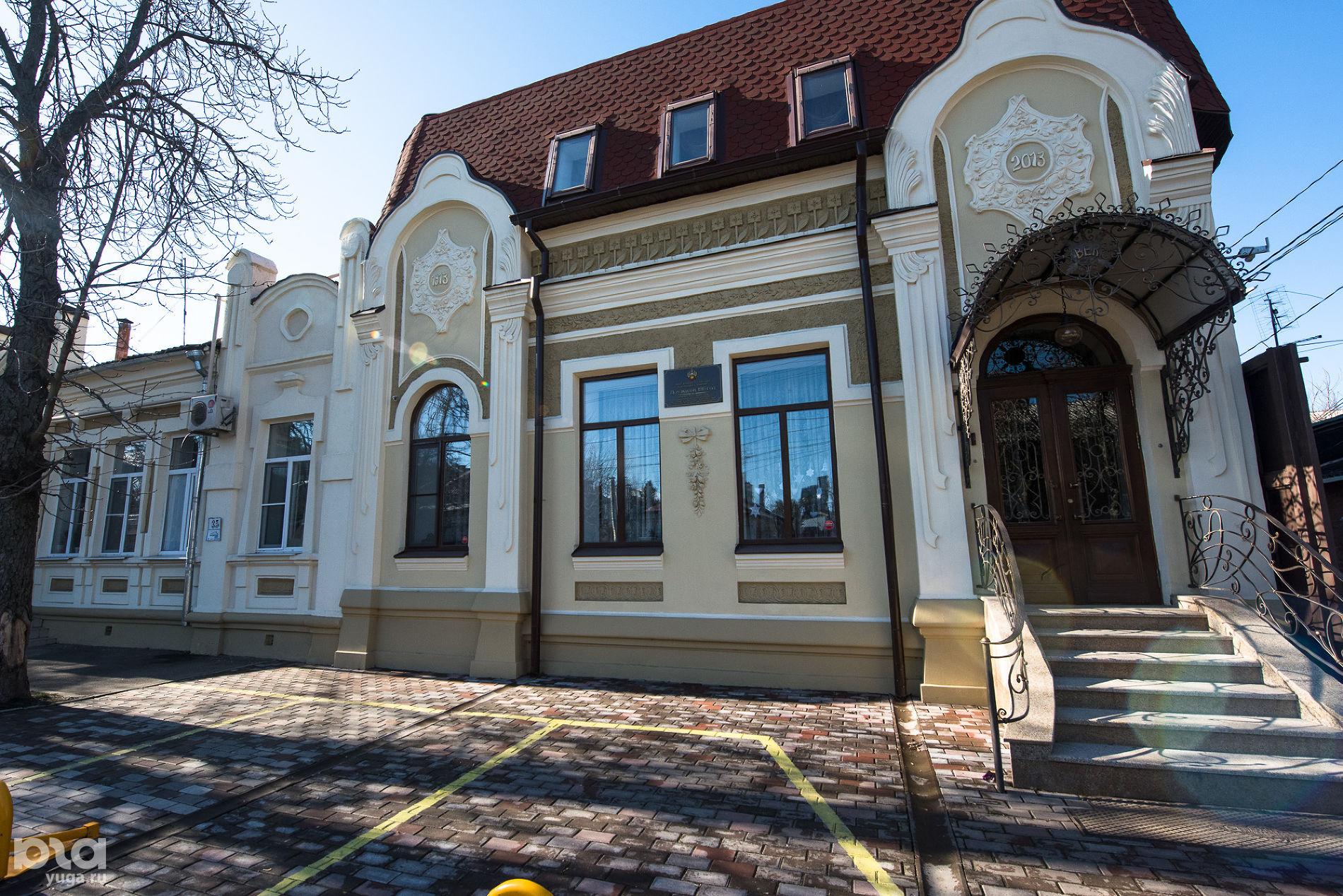 Фрунзе, 37. Дом жилой, 1913 г. ©Фото Елены Синеок, Юга.ру