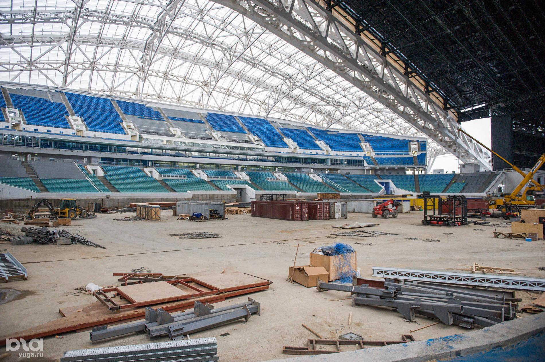 Комиссия ФИФА посетила стадион «Фишт» в Сочи  ©Фото Нины Зотиной, Юга.ру