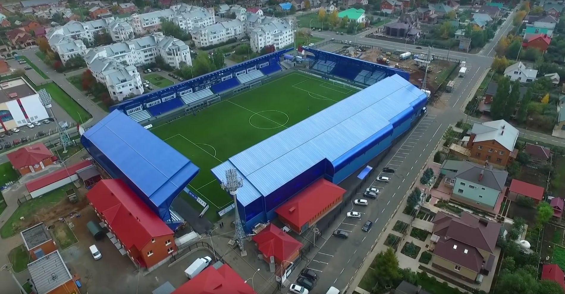 Стадин «Газовик» в Оренбурге ©Скриншот из видео с сайта fcorenburg.ru
