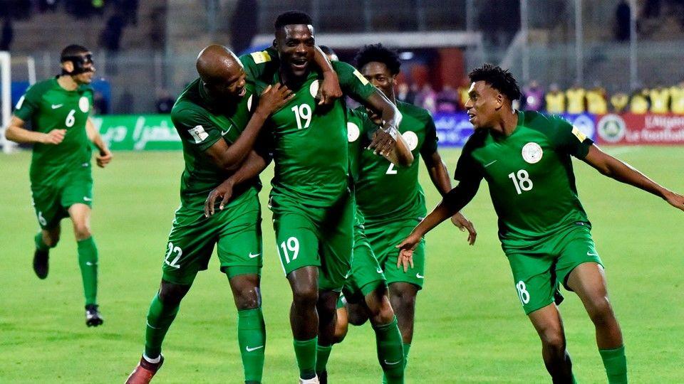 Сборная Нигерии пофутболу разместится вовремя ЧМ-2018 вЕссентуках