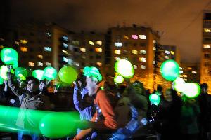 """Акция """"Час Земли"""" в Краснодаре ©Елена Синеок, ЮГА.ру"""