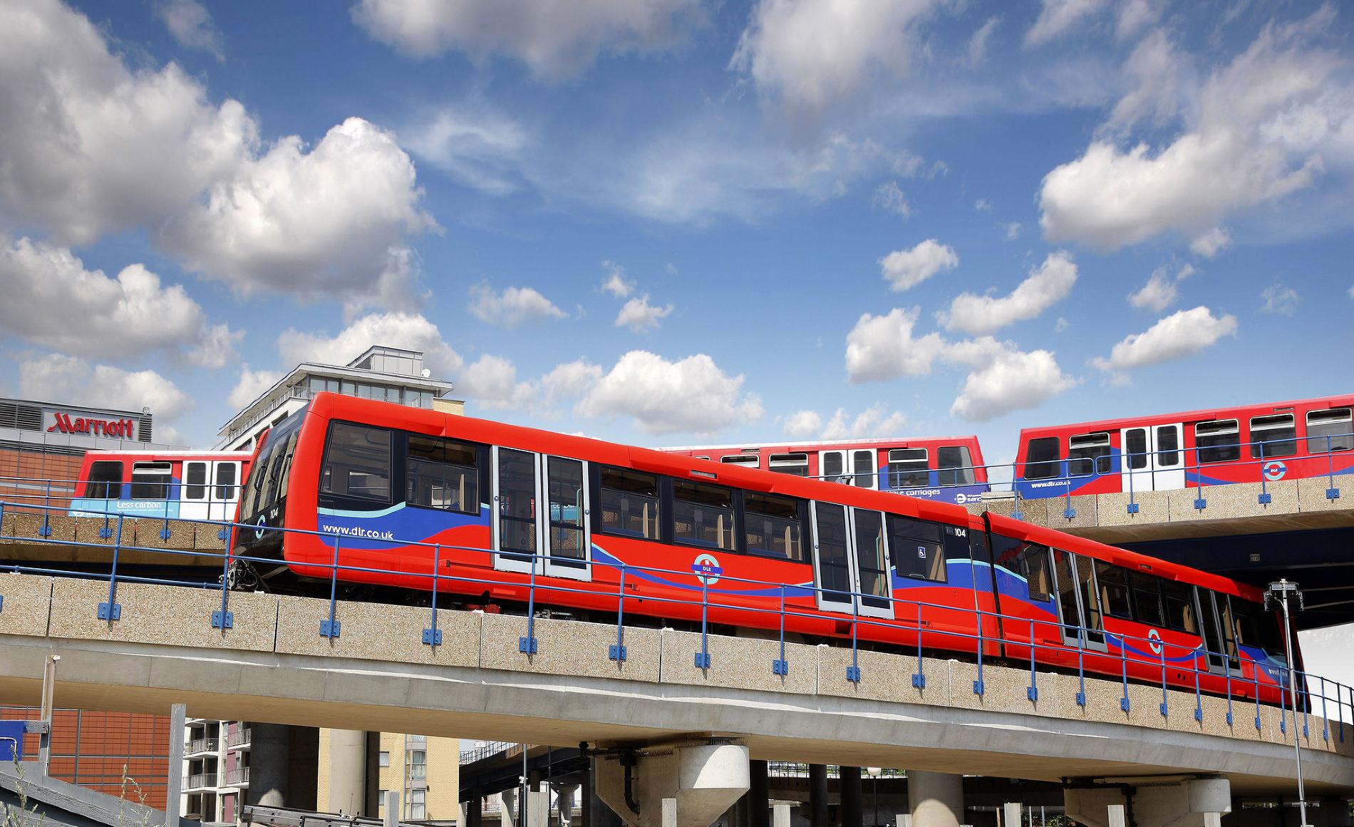 Доклендское легкое метро ©Фото пресс-службы Transport for London