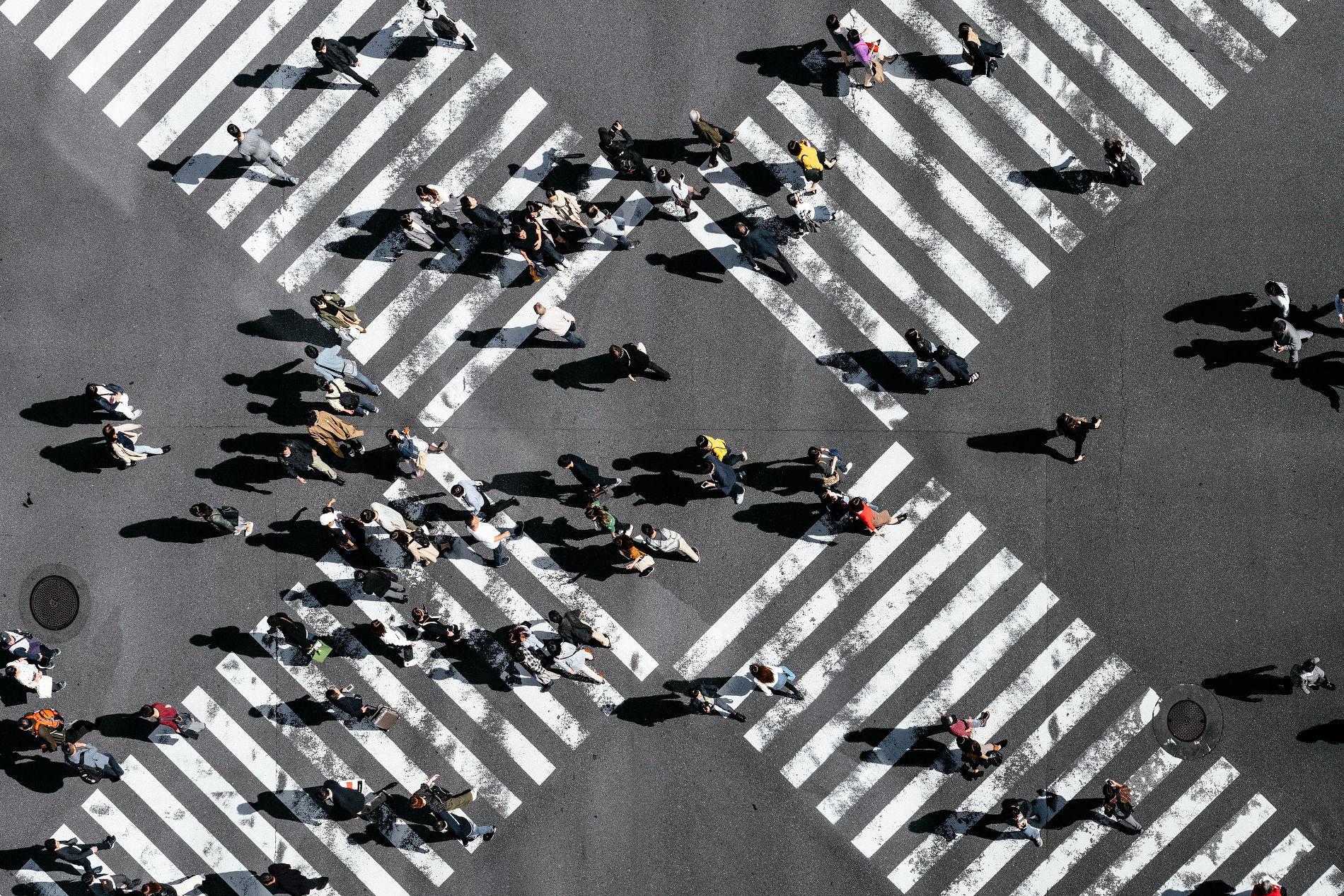 Пешеходный переход в Токио ©Фото Ryoji Iwata, unsplash.com