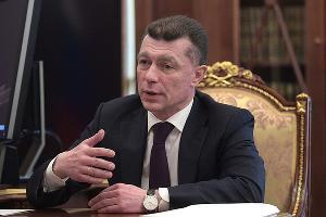 Максим Топилин ©Фото пресс-службы Кремля