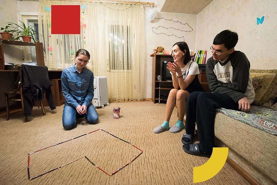 Тренировочная квартира «Открытой среды» ©Фото из инстаграма «Открытой среды», instagram.com/otkrytaya.sreda