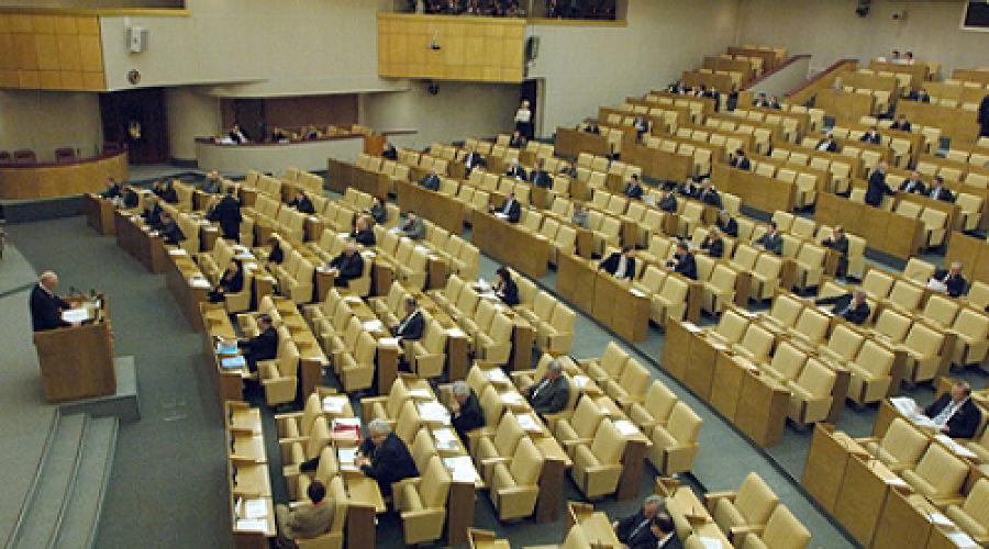 Заседание Госдумы ©Фото Юга.ру