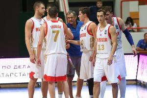 Сборная России по баскетболу ©Фото с официального сайта РФБ, russiabasket.ru