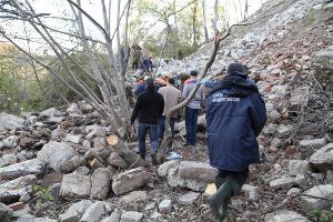Поиски пропавшего человека ©Фото пресс-службы СУ СК РФ по Краснодарскому краю