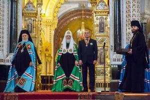 Патриарх Кирилл и Юрий Иванов ©Фото с сайта www.usi23.ru