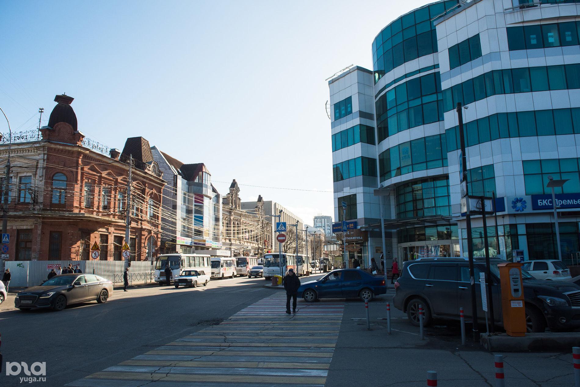 Улица Красноармейская ©Фото Елены Синеок, Юга.ру