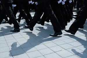 Парад Кубанского казачьего войска в Краснодаре ©Фото Елены Синеок, Юга.ру