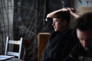Степан Субботин. Арт-группировка ЗИП ©Фото Елены Синеок, Юга.ру