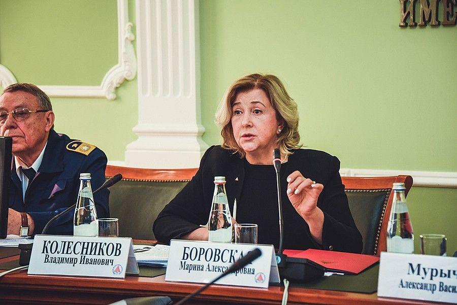 Марина Боровская назначена заместителем министра науки ивысшего образования Российской Федерации